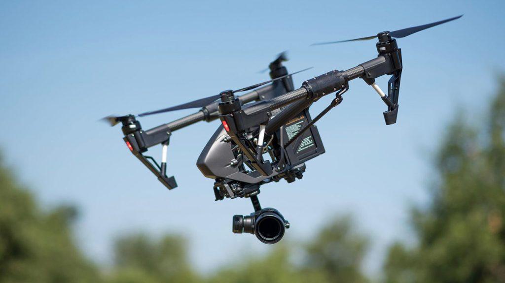 Riprese aeree con drone