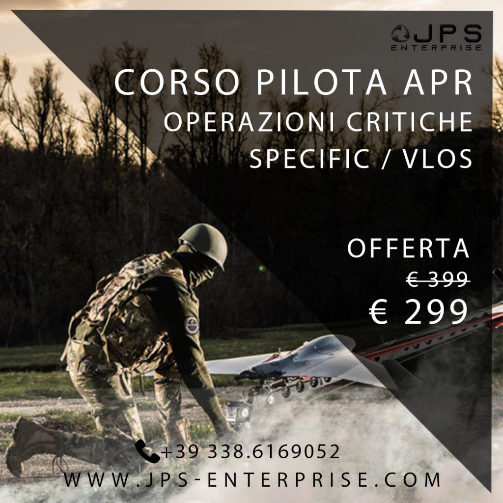 Corso Pilota drone CRO SPECIFIC / VLOS